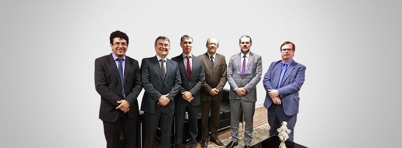 Diretoria Executiva da Funpresp-Jud é recebida pelo Ministro Dias Toffoli